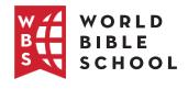 World Bible School Icon